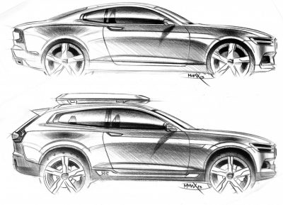 2015 Volvo XC90 Closely Previewed by New XC Coupe Concept for Detroit 24
