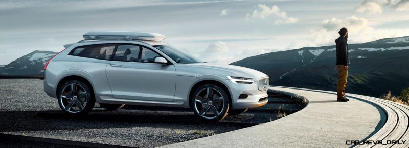 2015 Volvo XC90 Closely Previewed by New XC Coupe Concept for Detroit 27
