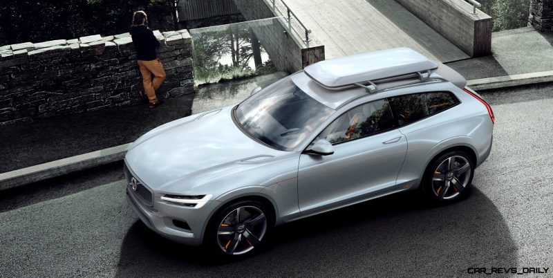 2015 Volvo XC90 Closely Previewed by New XC Coupe Concept for Detroit 3