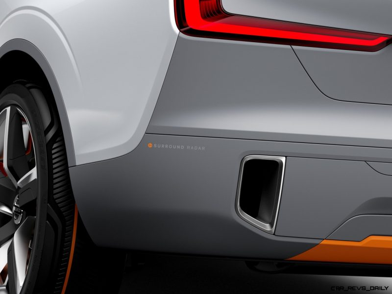 2015 Volvo XC90 Closely Previewed by New XC Coupe Concept for Detroit 30