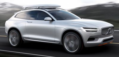 2015 Volvo XC90 Closely Previewed by New XC Coupe Concept for Detroit 4