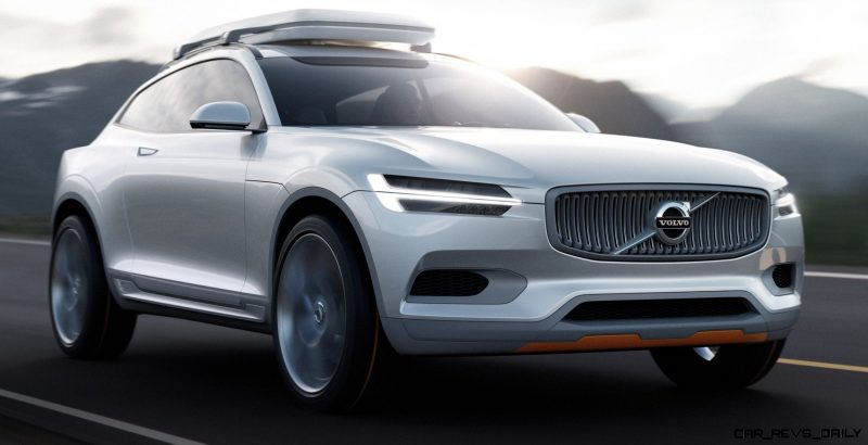 2015 Volvo XC90 Closely Previewed by New XC Coupe Concept for Detroit 5