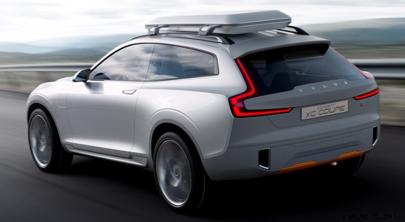 2015 Volvo XC90 Closely Previewed by New XC Coupe Concept for Detroit 6