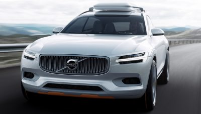2015 Volvo XC90 Closely Previewed by New XC Coupe Concept for Detroit 8