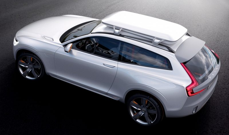 2015 Volvo XC90 Closely Previewed by New XC Coupe Concept for Detroit 9