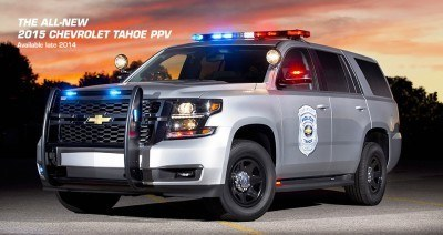 2015 chevy tahoe-police