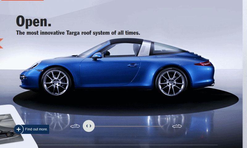911 TARGA Animated GIF roof