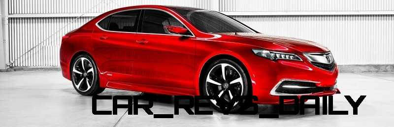 The 2015 Acura TLX Prototype