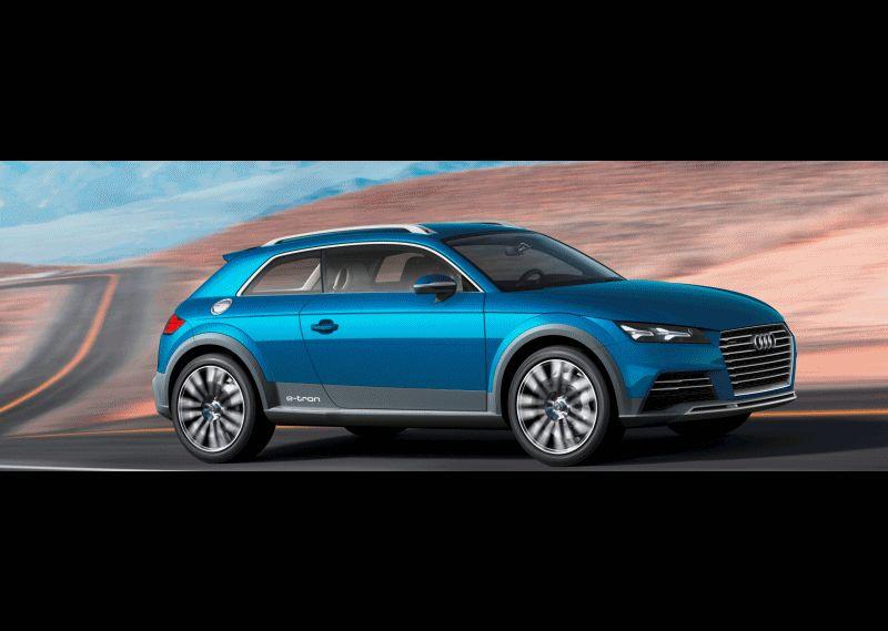 Audi Allroad Shooting Brake GIF