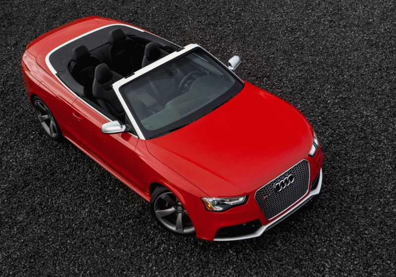 Audi RS5 Cabrio Sets Phasers to SUN
