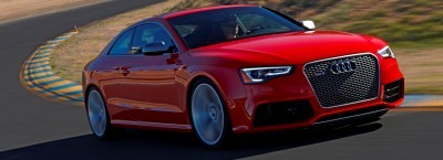 Audi RS5 Coupe Track Photos 10