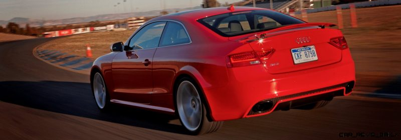 Audi RS5 Coupe Track Photos 11