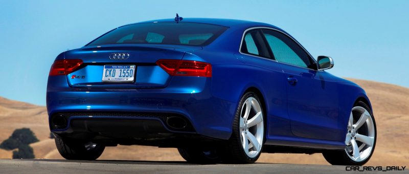 Audi RS5 Coupe Track Photos 3