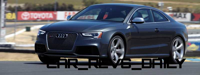 Audi RS5 Taming U.S. Racetracks with New Colors 23