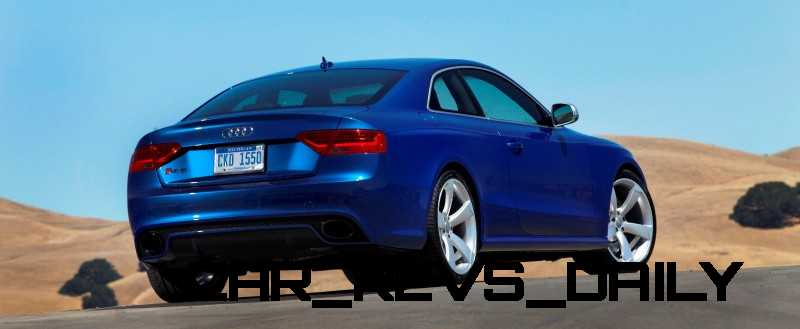 Audi RS5 Taming U.S. Racetracks with New Colors 5