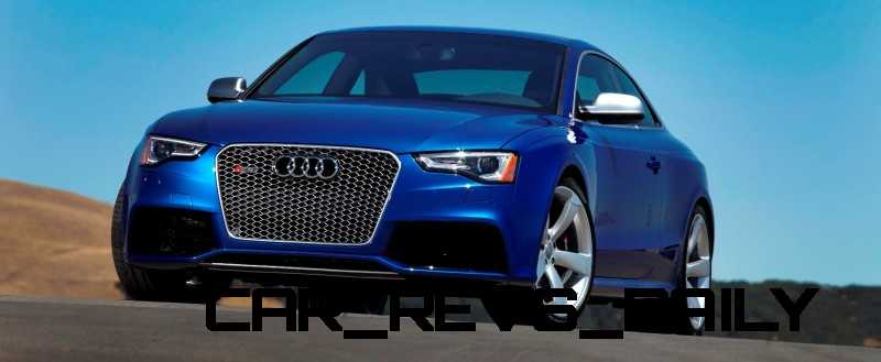 Audi RS5 Taming U.S. Racetracks with New Colors 6