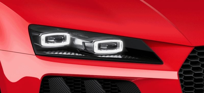 Audi Sport Quattro Concepts CES GIF