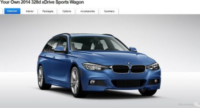 BMW 328d and 328i Sport Wagons BuildYourOwn 12