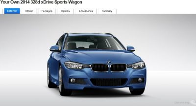 BMW 328d and 328i Sport Wagons BuildYourOwn 13