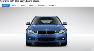 BMW 328d and 328i Sport Wagons BuildYourOwn 14