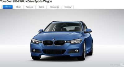 BMW 328d and 328i Sport Wagons BuildYourOwn 15