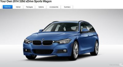 BMW 328d and 328i Sport Wagons BuildYourOwn 16