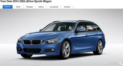 BMW 328d and 328i Sport Wagons BuildYourOwn 17