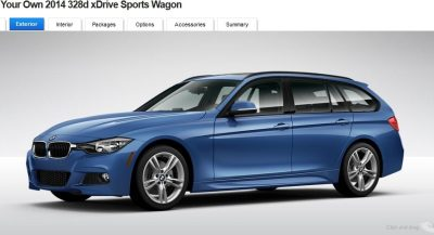 BMW 328d and 328i Sport Wagons BuildYourOwn 19