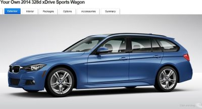 BMW 328d and 328i Sport Wagons BuildYourOwn 20