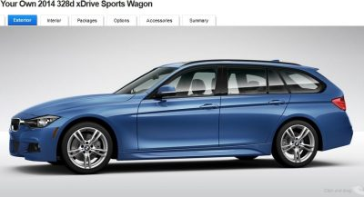 BMW 328d and 328i Sport Wagons BuildYourOwn 21