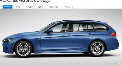 BMW 328d and 328i Sport Wagons BuildYourOwn 22
