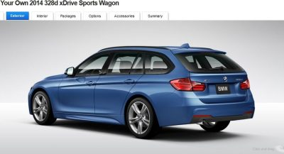 BMW 328d and 328i Sport Wagons BuildYourOwn 24