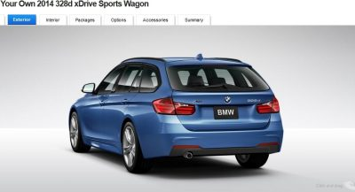 BMW 328d and 328i Sport Wagons BuildYourOwn 25