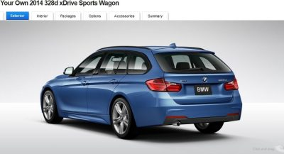 BMW 328d and 328i Sport Wagons BuildYourOwn 26