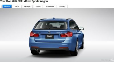 BMW 328d and 328i Sport Wagons BuildYourOwn 27