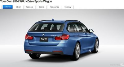 BMW 328d and 328i Sport Wagons BuildYourOwn 28
