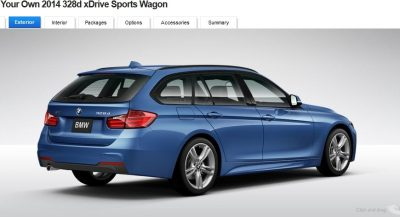 BMW 328d and 328i Sport Wagons BuildYourOwn 30