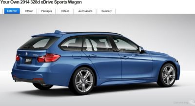 BMW 328d and 328i Sport Wagons BuildYourOwn 31