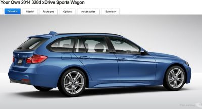 BMW 328d and 328i Sport Wagons BuildYourOwn 32