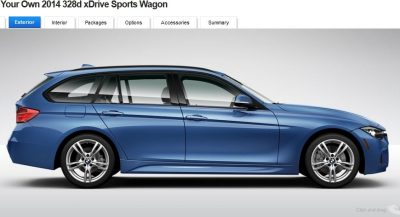 BMW 328d and 328i Sport Wagons BuildYourOwn 34