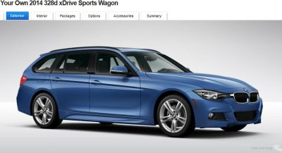 BMW 328d and 328i Sport Wagons BuildYourOwn 35