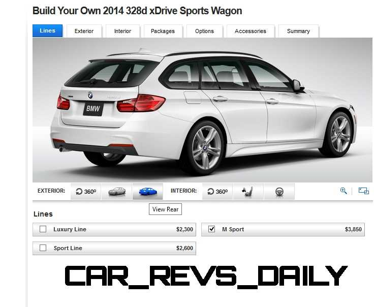 BMW 328d and 328i Sport Wagons BuildYourOwn 5