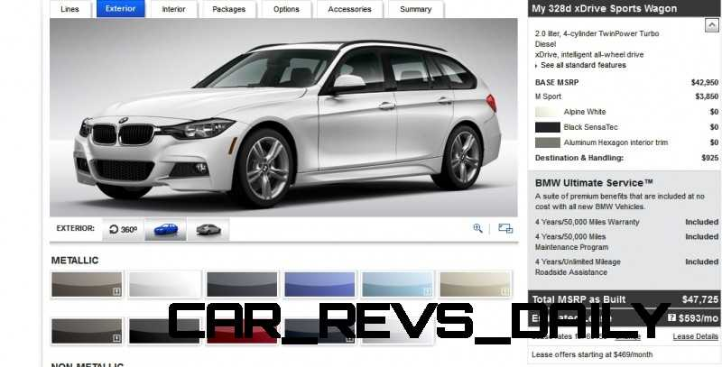 BMW 328d and 328i Sport Wagons BuildYourOwn 6