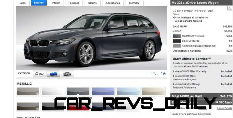 BMW 328d and 328i Sport Wagons BuildYourOwn 9