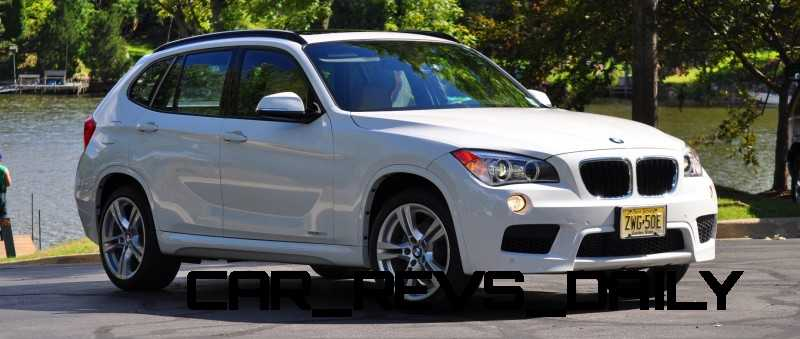 BMW X1 sDrive28i M Sport - Alpine White in 60 High-Res Photos36