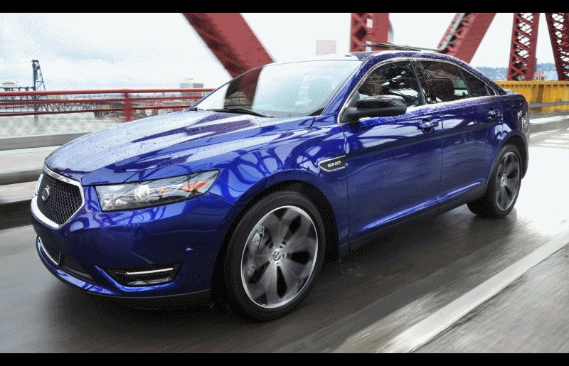 Best of Awards - 2014 Ford Taurus and Taurus SHO - Ext Action SHO GIF