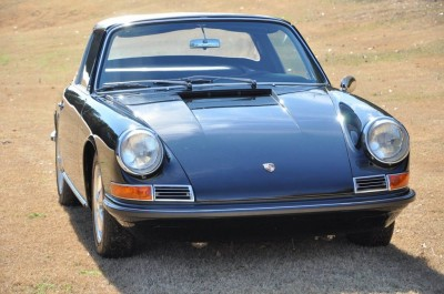 Black 1967 Porsche 911S Soft Window TARGA for sale in Raleigh NC 1