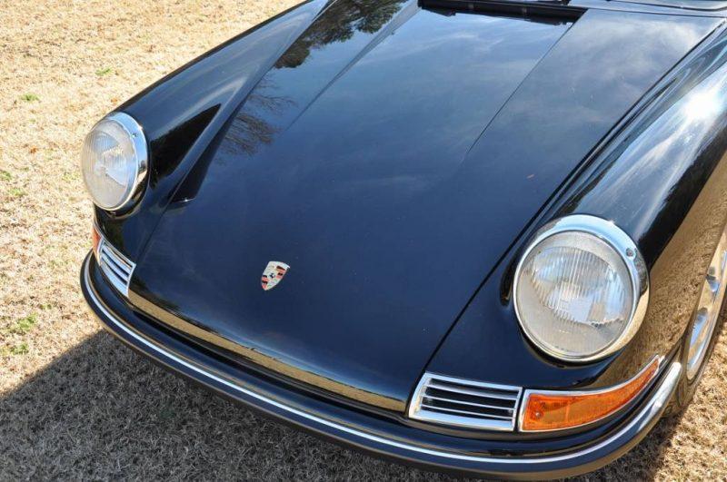 Black 1967 Porsche 911S Soft Window TARGA for sale in Raleigh NC 15