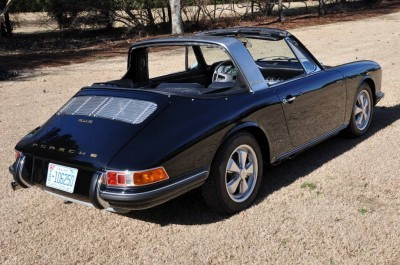 Black 1967 Porsche 911S Soft Window TARGA for sale in Raleigh NC 18