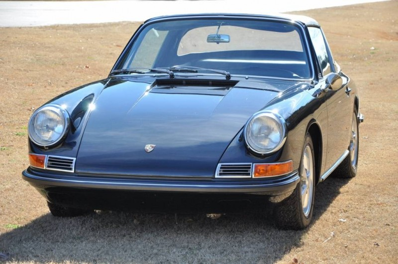 Black 1967 Porsche 911S Soft Window TARGA for sale in Raleigh NC 2